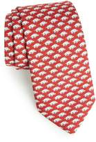 Vineyard Vines University of Arkansas Silk Tie