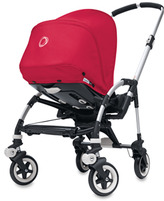 Bugaboo Bee Stroller Base and Accessories - Special Edition Coral Red