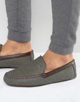 Ted Baker Moriss Print Slippers
