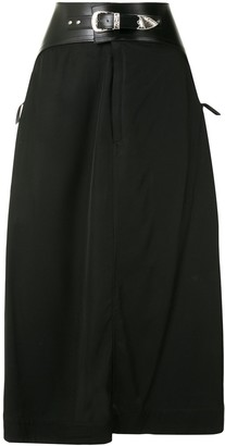 Toga Belted Wrap Skirt