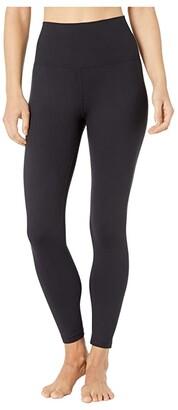 Manduka Foundation 7/8 Pocket Legging (Black) Women's Casual Pants