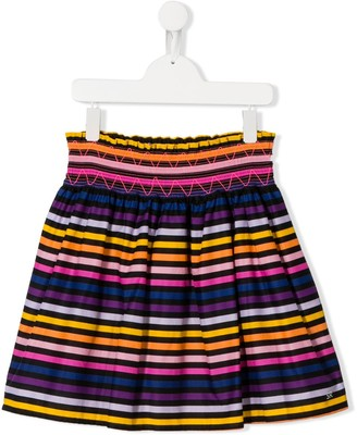 Sonia Rykiel Enfant TEEN stripe print skirt