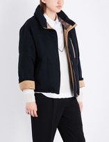 Brunello Cucinelli Goose feather-filled cotton-blend quilted jacket