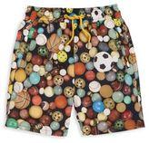 Paul Smith Toddler's & Boy's Ninja Balls Swim Trunk
