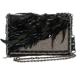 Mary Frances Darkness Reigns Disney Maleficent 2 Beaded Crossbody Handbag