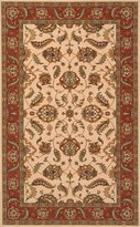 Momeni Rugs PERGAPG-10IVY2680 Persian Garden Collection, 100% New Zealand Wool Traditional Area Rug, Runner