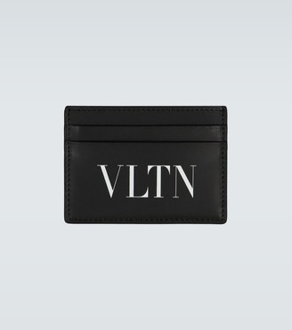 Valentino VLTN leather cardholder