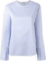 Golden Goose Deluxe Brand pinstripe blouse