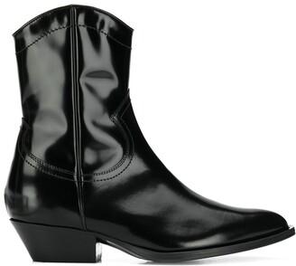 Philosophy di Lorenzo Serafini Patent Cowboy Boots