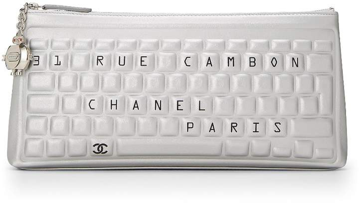 c6dfec7223ee93 Chanel Silver Hardware Bag - ShopStyle