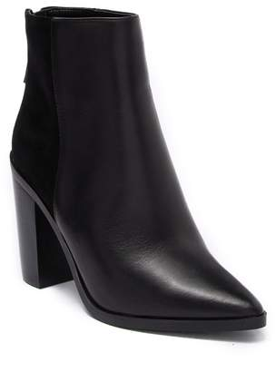 Aldo Ibalenna Leather Block Heel Ankle Boot