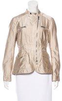 Moschino Silk-blend Zip Jacket
