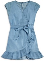 Bardot Junior Girls' Chambray Wrap Dress