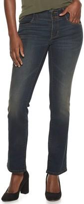 Apt. 9 Women's Tummy Control Curvy Midrise Bootcut Jeans