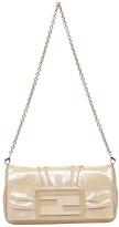 Fendi Brown Synthetic Clutch bag