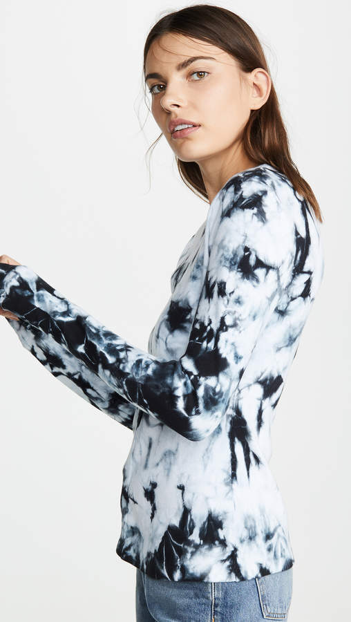 Proenza Schouler PSWL Long Sleeve Detail Top