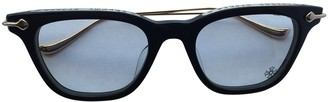 Chrome Hearts Black Plastic Sunglasses