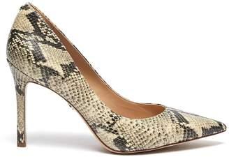 Sam Edelman 'Hazel' snake embossed leather pumps