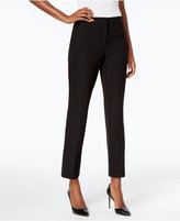JM Collection Cheetah-Print Ankle Pants, Only at Macy's