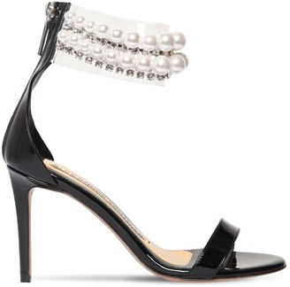 Alexandre Vauthier 80mm Coco Patent Leather Sandals