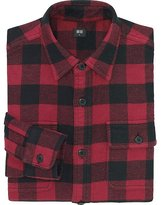 Uniqlo Men Heavy Flannel Long Sleeve Shirt