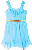 JCPenney BY AND BY GIRL by&by Girl Belted Gauze Dress - Preschool Girls 4-6x