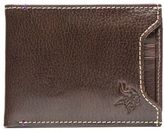 JACK MASON Jack Mason NFL Minnesota Vikings Stadium Leather Sliding 2-in-1 Wallet in Brown