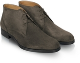 Moreschi Stiria - Gray Suede Ankle Boots