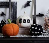 Pottery Barn Kids Halloween Black/White Star Pumpkin, Small