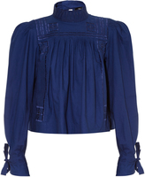 Isabel Marant Skara embroidered top
