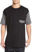 Imperial Motion Men's 'Harper' Short Sleeve Pocket Henley T-Shirt