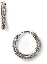 Nadri Pavé Huggie Earrings