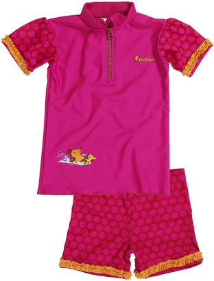 Playshoes DIE MAUS Girl's UV-Schutz Bade-Set DIE MAUS Punkte Swimsuit