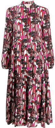 La DoubleJ Ant Farm print shirt dress