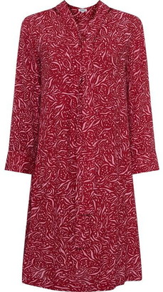 Great Plains Javan Print Tie Waist Dress