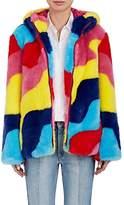 Mira Mikati Women's Faux-Fur Hooded Coat