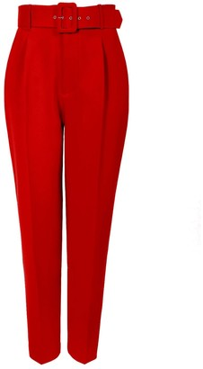 Aggi Tracey True Red Trousers