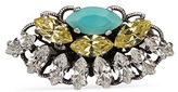 Anton Heunis Swarovski crystal fan ring