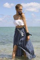 Ecote Tassel Tie Maxi Skirt