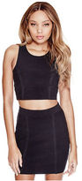 G by Guess GByGUESS Women's Darcey Bandage Crop Top