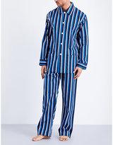 Derek Rose Royal 203 Cotton Pyjama Set