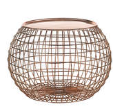 Pols Potten Wire Ball Table Tray - Copper