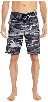 O'Neill Superfreak 2.0 Boardshorts (Black Camo) Men's Swimwear