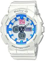 Casio Women's Baby-G BA120-7B Plastic Quartz Watch