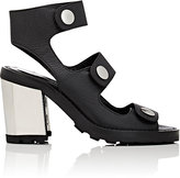 Opening Ceremony WOMEN'S ISA GRAINED LEATHER SANDALS-BLACK SIZE 6.5