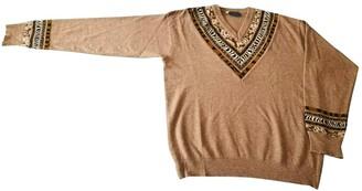 Kenzo Camel Wool Knitwear for Women Vintage