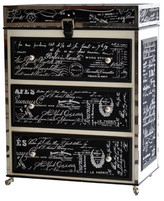 French Script Chest of Drawers
