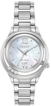 Citizen Eco-Drive Diamond & Stainless Steel Watch