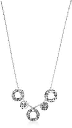 Rebecca R-ZERO Rhodium Over Bronze Necklace