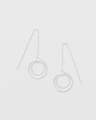 Club Monaco Multi-Circle Threader Earring